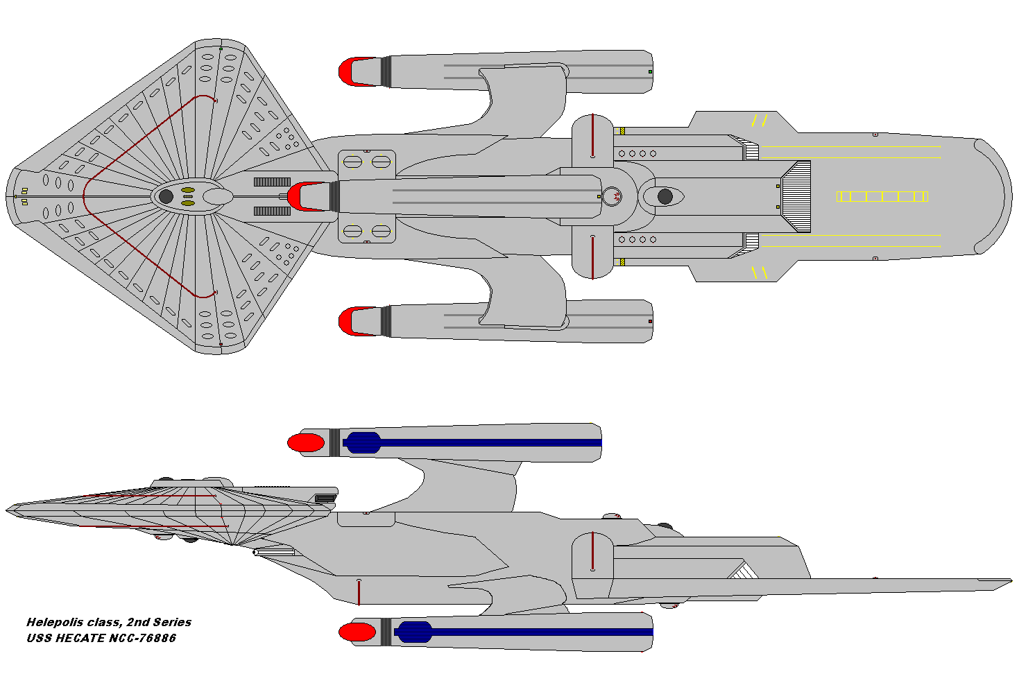 USS HECATE NCC-76886